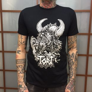 Camiseta negra Tort -SOLD OUT-