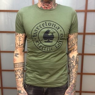 Camiseta caqui logo -SOLD OUT-