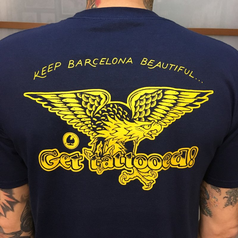 SOLD OUT - Camiseta Navy GET TATTOOED
